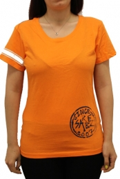 Girls Logo T (Orange)
