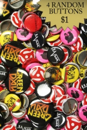 Button Grab Bag (4 Random Buttons) SmartPunk