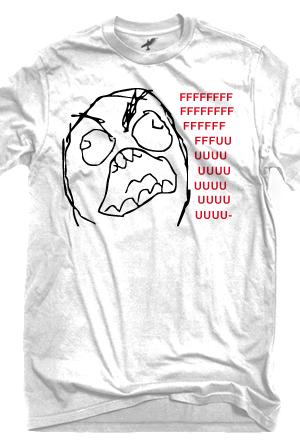Fffuuuu Rage Guy Meme Sery Comedy Meme Series Online Store On