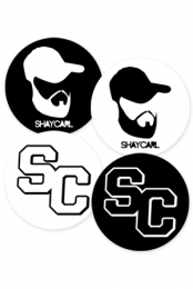 Circle Stickers (4 pack)