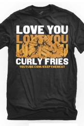 Curly Fries (Grey)