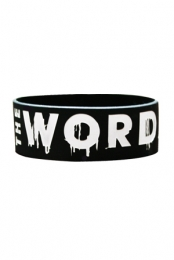 The Word Alive Wristband (black)