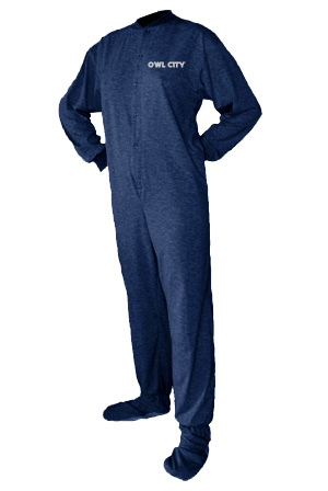 Owl City Adult Onesie (Zip Up) Owl City Adult Onesie (Zip Up) from Owl City