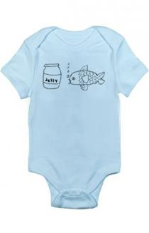 Jellyfish Infant Bodysuit (Blue)