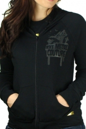 Ikke Medal (Black Zip-Up Girls)