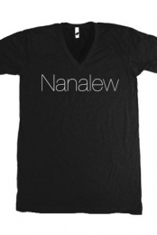 Nanalew (Black V-Neck)