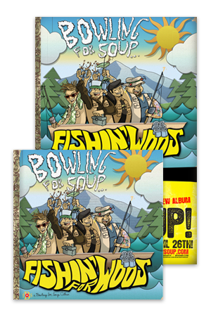 Fishin\' For Woos CD + Poster Music - Bowling For Soup Music - Online ...