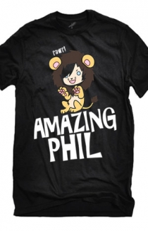 Phil in a Lion Suit (Black)