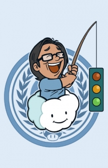 Happy Wong (Baby Blue)