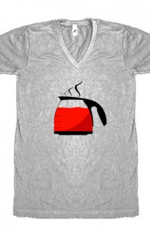 Hot Kool Aid - Heather Grey (V-Neck)