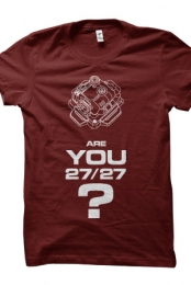 Are you 27? (Maroon)