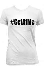 Get At Me (Womens White)