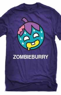 Zombie Burry T-Shirt (Purple)