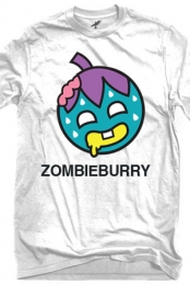 Zombie Burry T-Shirt (White)