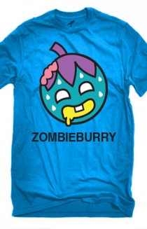 Zombie Burry T-Shirt (Blue)