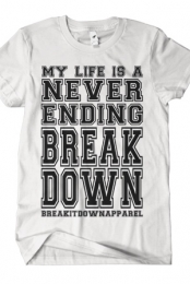 Never Ending Breakdown (White)