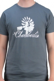 Chamberlin dark grey shirt