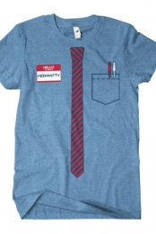 Tie T-Shirt (Athletic Blue Crew)