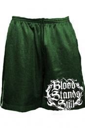 Gym Shorts (Dark Green)