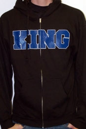 Varsity Zip-up (Black)