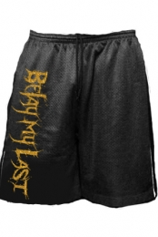 Shorts (Black w/ Gold Print)