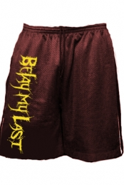 Shorts (Maroon w/ Yellow print)