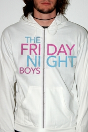 Friday Night Zip Up (White)