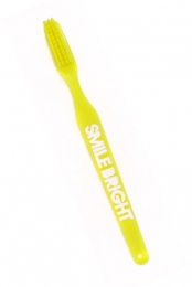 Smile Bright Toothbrush (Yellow)