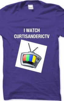 I WATCH CURTISANDERICTV T-SHIRT