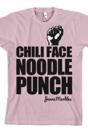 Chili Face Noodle Punch (Pink)