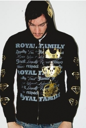 Royal Family Hoodie (Black)