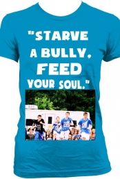 starve a bully,feed your soul.-vincent castronovo jr.
