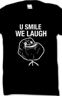 U Smile T-Shirt BLACK