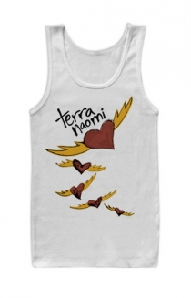Heartbats Tank Top (White)