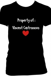 Property of Vincent Castronovo