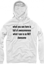 the awesome hoodie