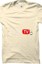 Aspot TV Logo (Cream)