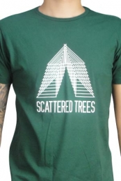 Scattered Trees (Unisex Forest Green)