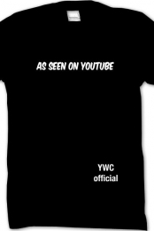 As seen on Youtube shirt!