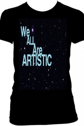 We are All artistic tee for girls