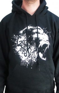 GO APE SHIT SPLATTER HOODIES