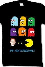 OH MY FRICK ITS BENDEATHROX T-SHIRT