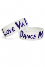 Love Via Dance Machine Wristband (White)