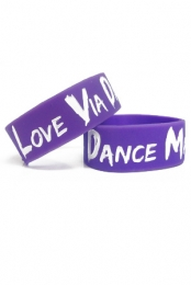 Love Via Dance Machine Wristband (Violet)