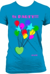 zoisweetie19 blue party t-shirt