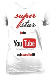 youtube tee by zoisweetie19