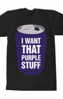 PURPLE STUFF (Guys Black)