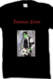 ''Frankie-Stine'' Black Tee Mens