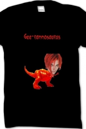 ''Gee-rannosarus'' Black Tee Men