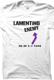 Lamenting Enemy YouTuber Men's White T-Shirt
